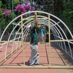 Eco Tunnels Tennis Court